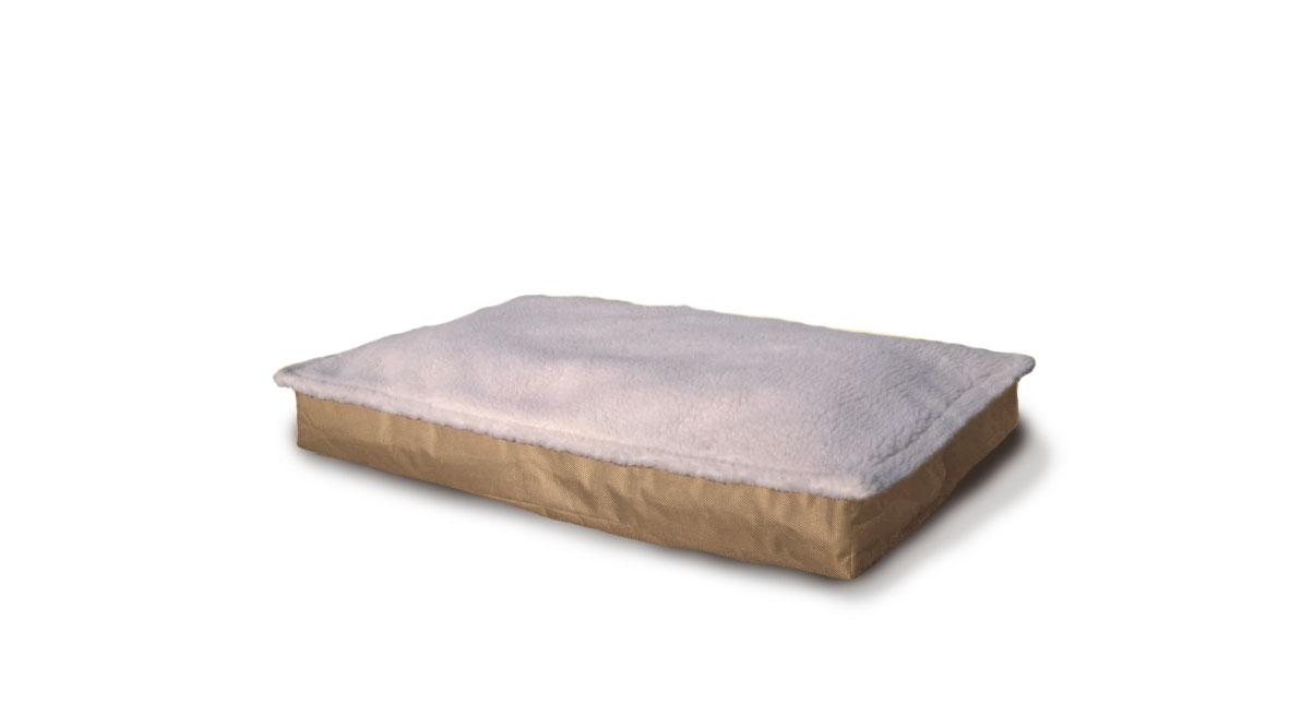 Furhaven Garden Indoor Outdoor Deluxe Orthopedic Pet Bed