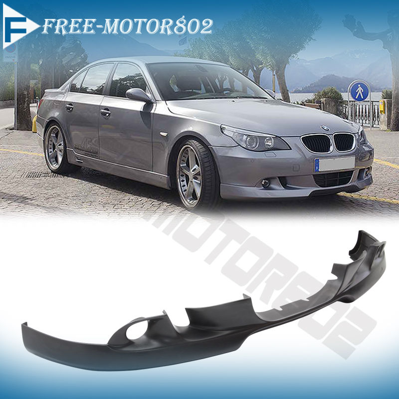 07 BMW E60 5-Series 525i 530i Black PU Front