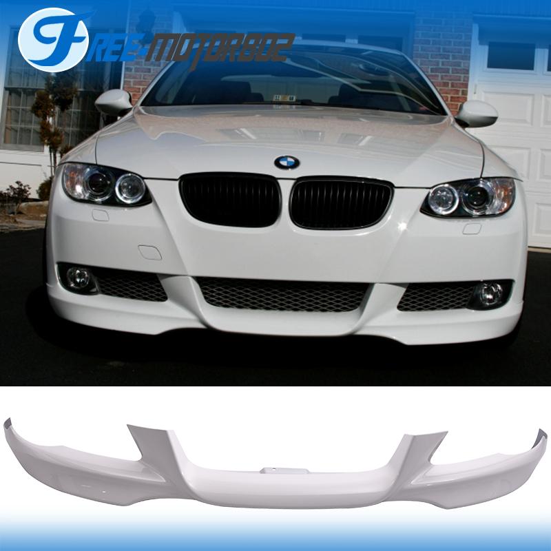 Fit 07-10 BMW E92 E93 3-Series Front Bumper Lip # 300