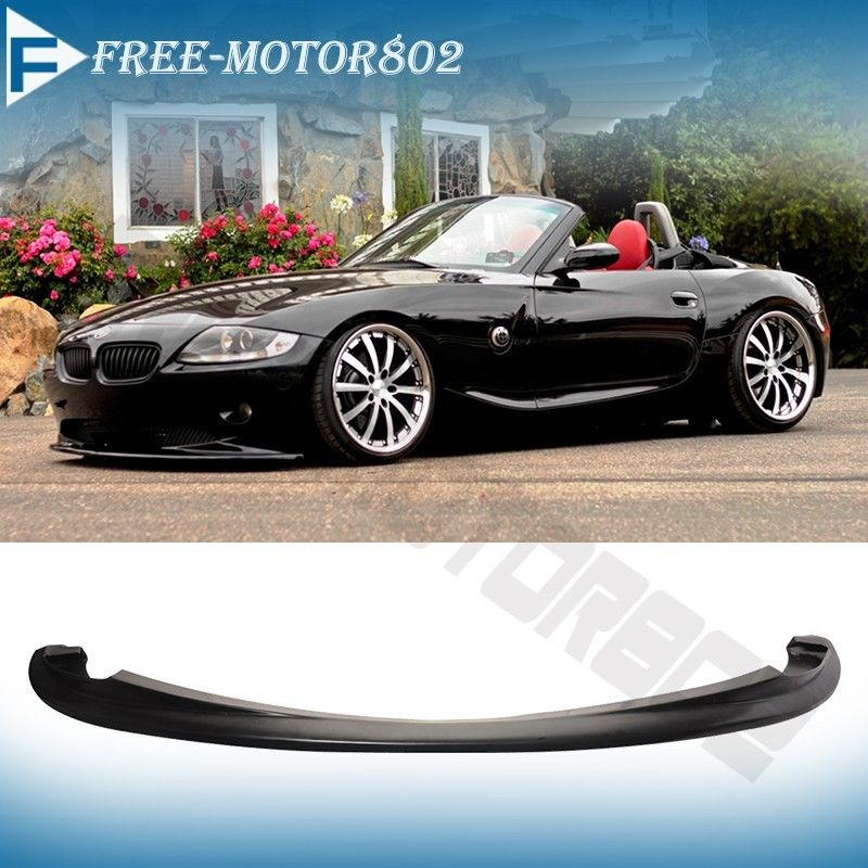 Bmw Z4 E85 Exhaust: Fit 2002-2005 BMW E85 Z4 Euro DS Style Poly Urethane Front