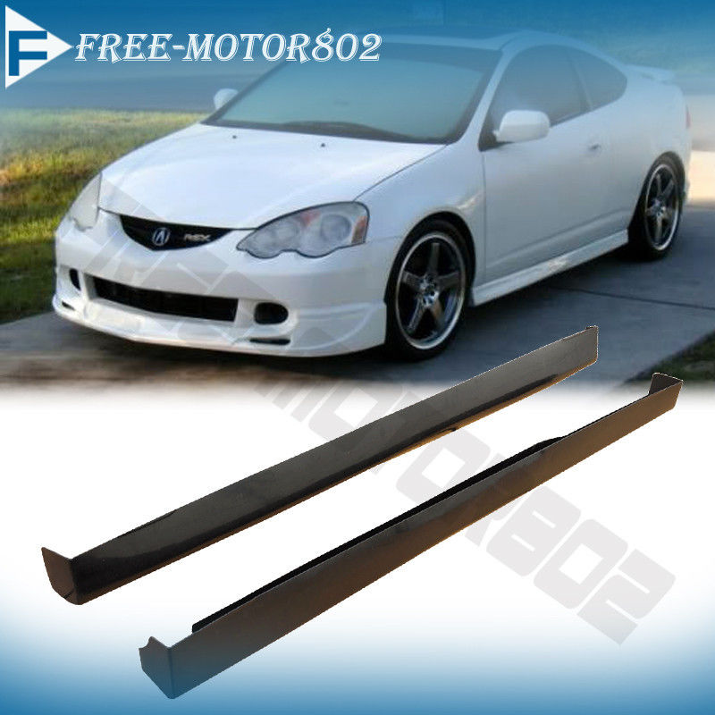 FIT FOR 02-06 ACURA RSX DC5 T-R STYLE SIDE SKIRTS SKIRT