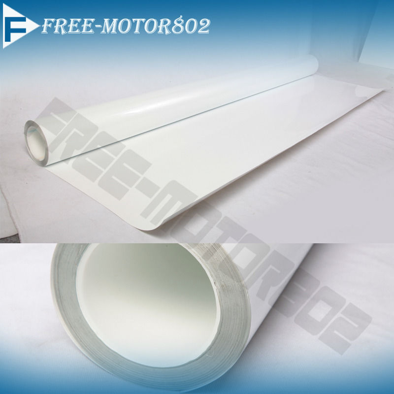 Clear Film Vinyl Sheet 6x60 Inch Headlight Hood Doors Sill