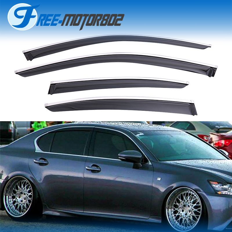 2014 Lexus Gs350: For 12-15 Lexus GS350 GS450H Window Visor Shade Rain Sun