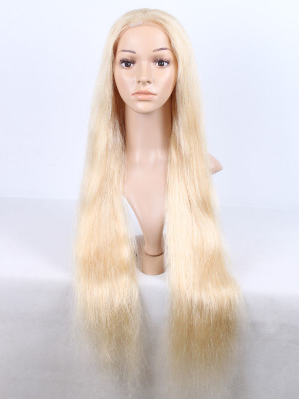 "Express AAAA+ 100% Remy Indian Human Hair Full Lace Wig Natural Straight 14""-30"""