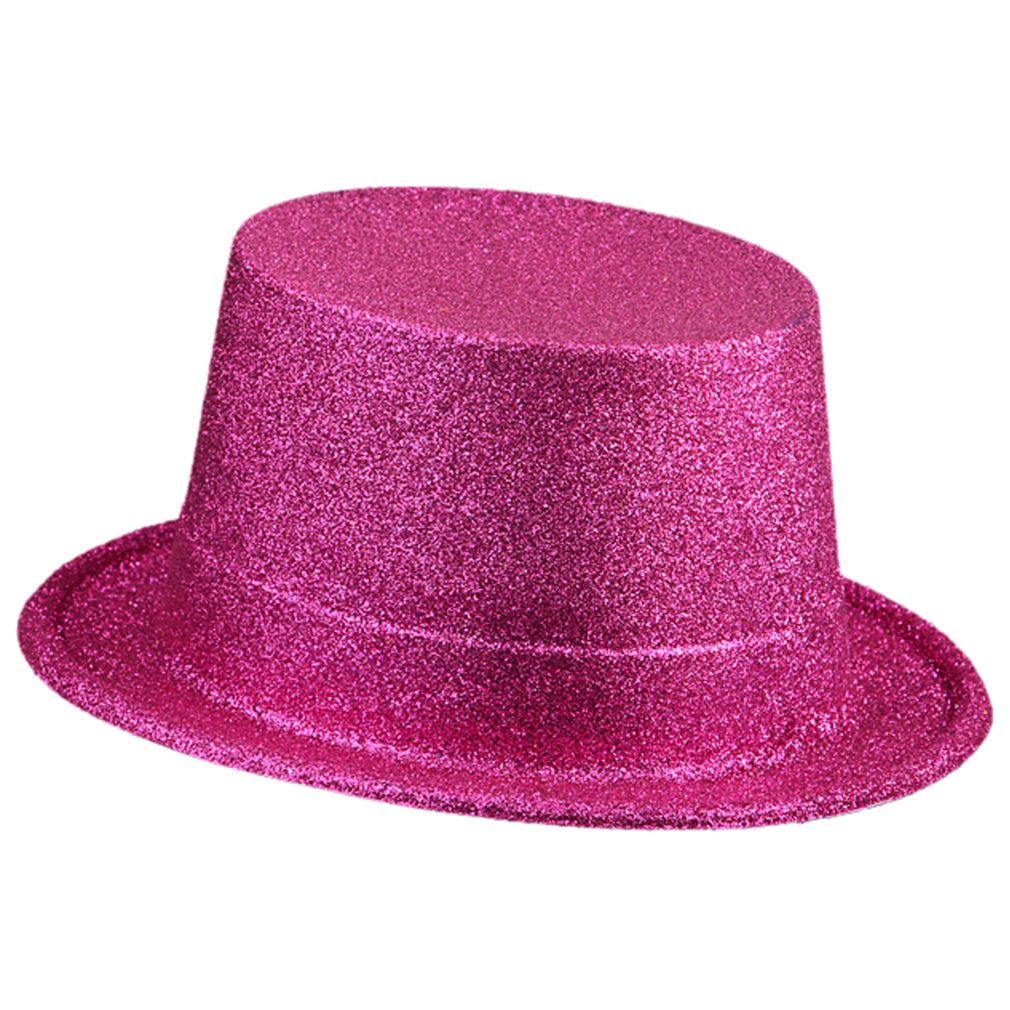 Top-Hat-Wide-Brim-Joy-Party-Cap-Magic-Hat-Fashion-Costume-Unisex-Performance