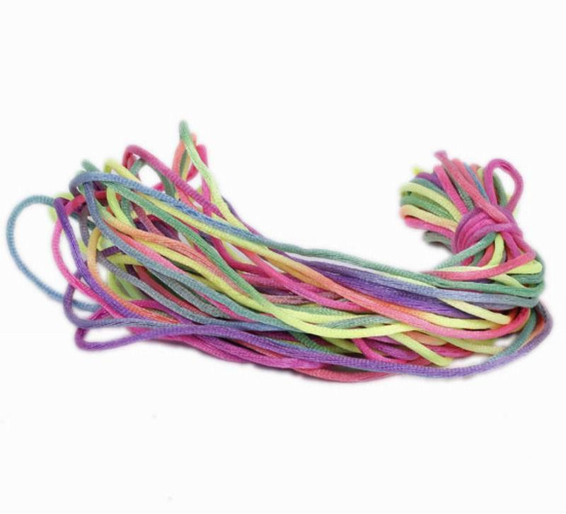 10m/Roll 2mm Chinese Nylon Knotting Beading Cords thread Rattail Wire DIY Craft