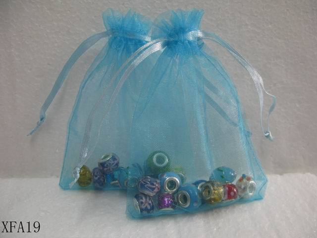 Sheer Colors Organza Wedding Party Favor Gift Bags Jewelry Beads Pouch Organiser