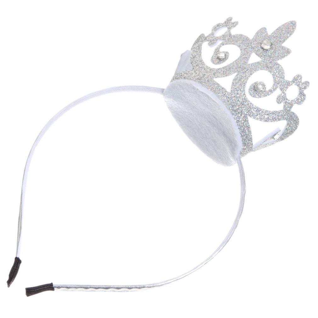 Baby Kids Girl Princess Queen Rhinestone Tiara Hair Band Headband Crown Headwear