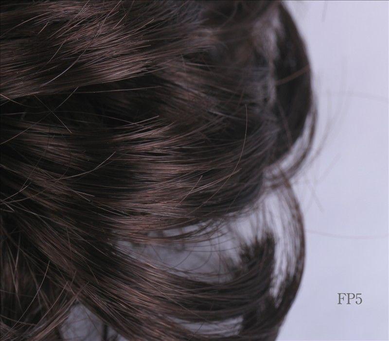 Ponytail Hair Extension Bun Hairpiece Wig Scrunchie 121