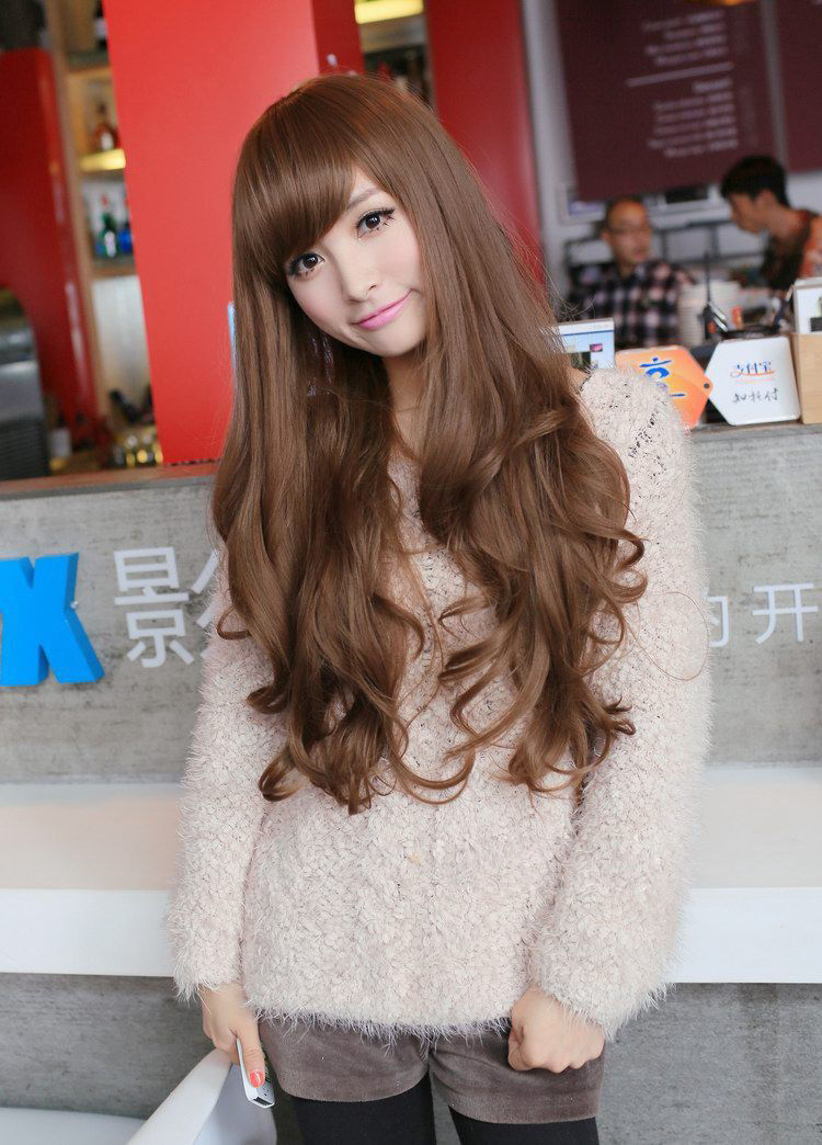 Fashion-Womens-Girl-Long-Wavy-Curly-Full-Hair-Wig-Cosplay-Party-Wigs-Costume