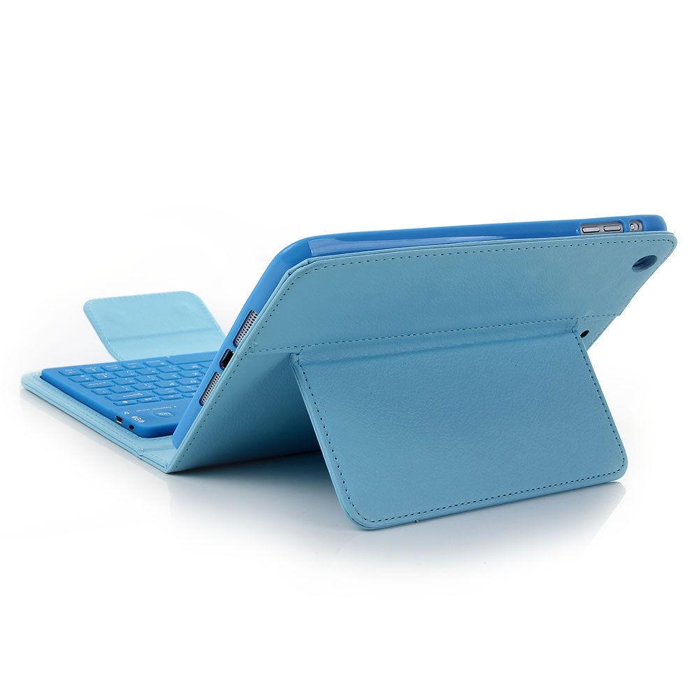 For New Apple iPad Mini 3 2 1 Case Wireless Bluetooth Keyboard Stand Folio Cover