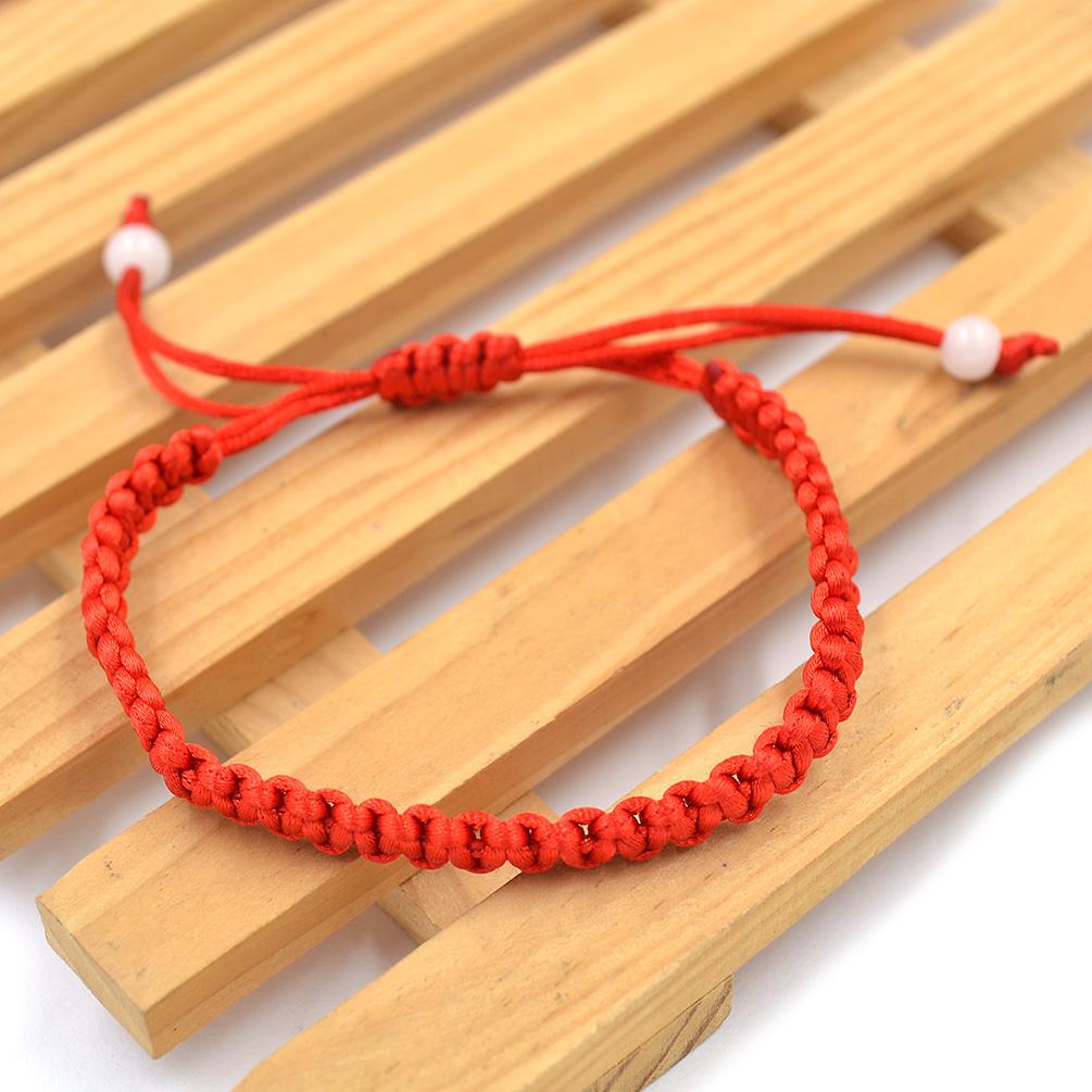 1x geflochten gl ck rote schnur armband armspange chinesisch neujahr geschenk. Black Bedroom Furniture Sets. Home Design Ideas