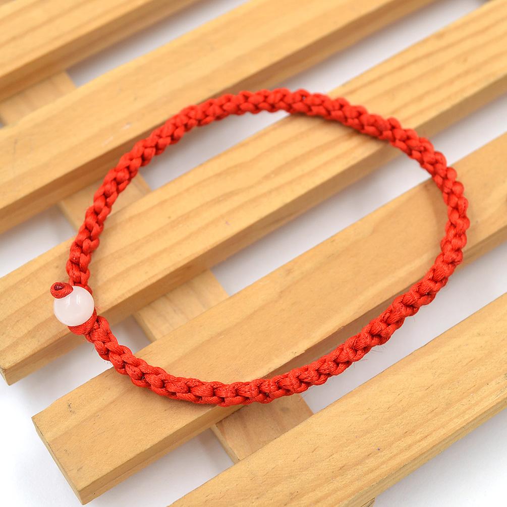 Rote schnur armband