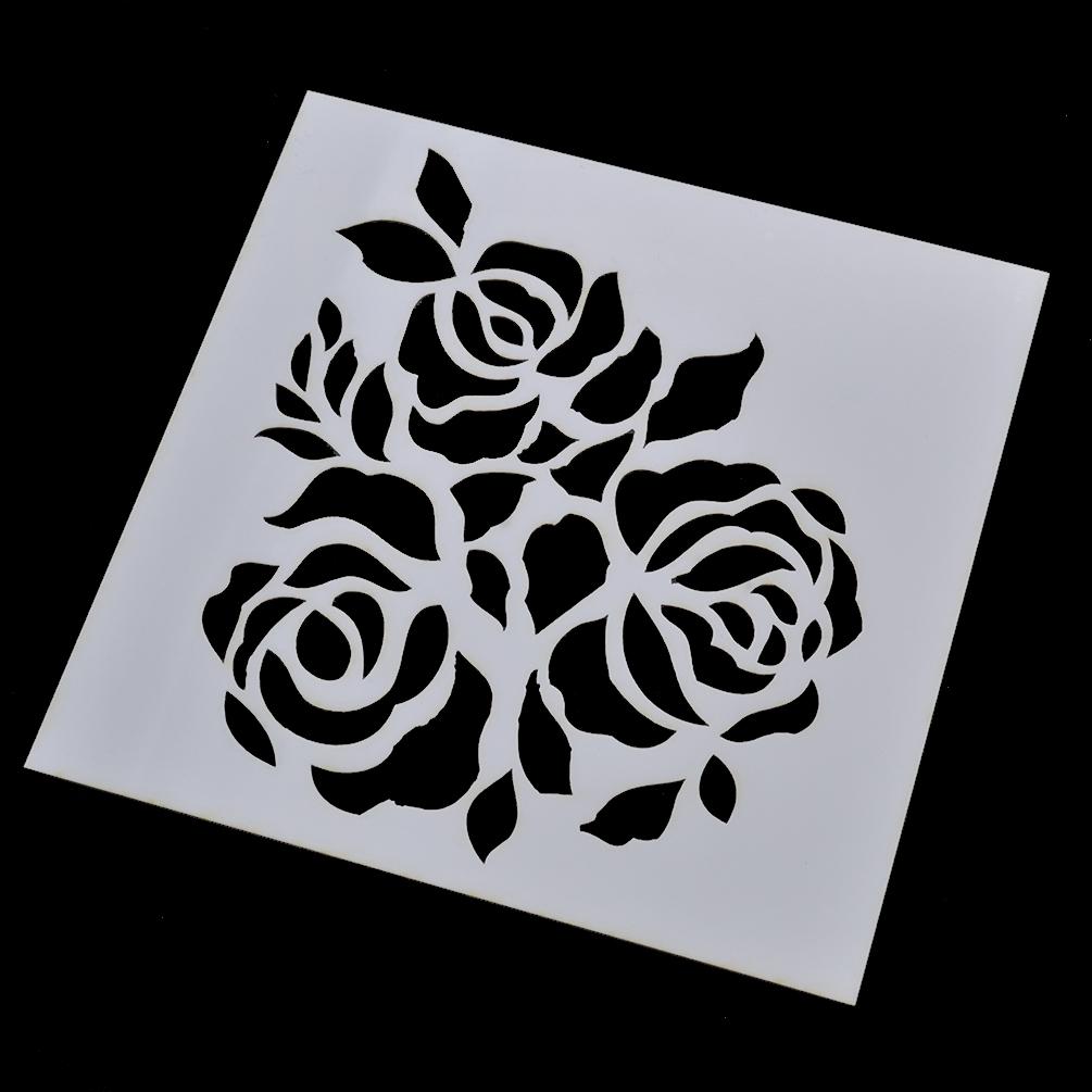 Malen Lackieren Zeichnen Zerstäuben Schablone DIY Basteln