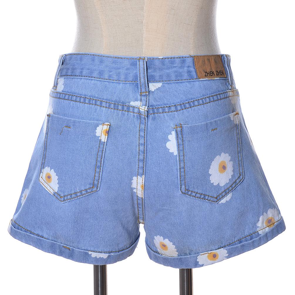 damen hot pants jeans shorts bermuda sommer liebe g nsebl mchen kurze hose party ebay. Black Bedroom Furniture Sets. Home Design Ideas