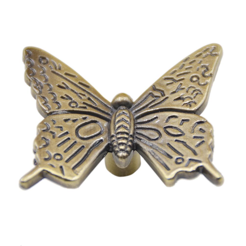 Vintage Schmetterling M Belgriff M Belknopf Schrank
