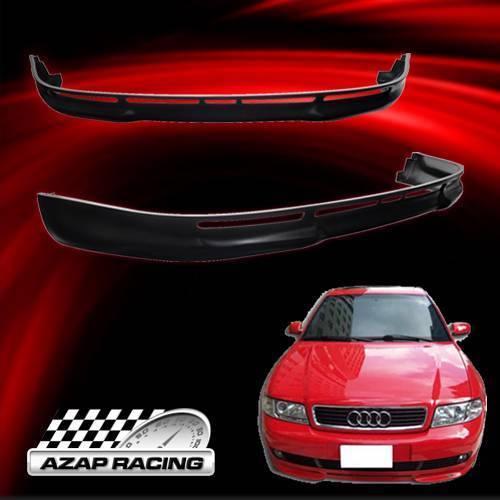 1996-2001 Poly Urethane Front Bumper Lip Spoiler For Audi