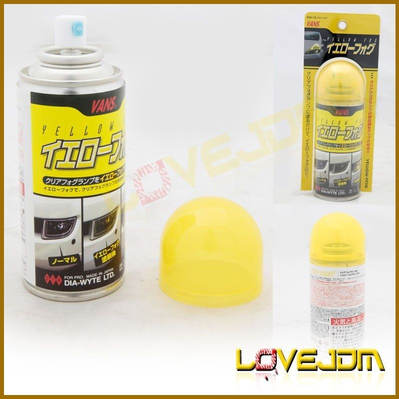 vans yellow headlight tail fog lamp lens spraying paint universal fit. Black Bedroom Furniture Sets. Home Design Ideas