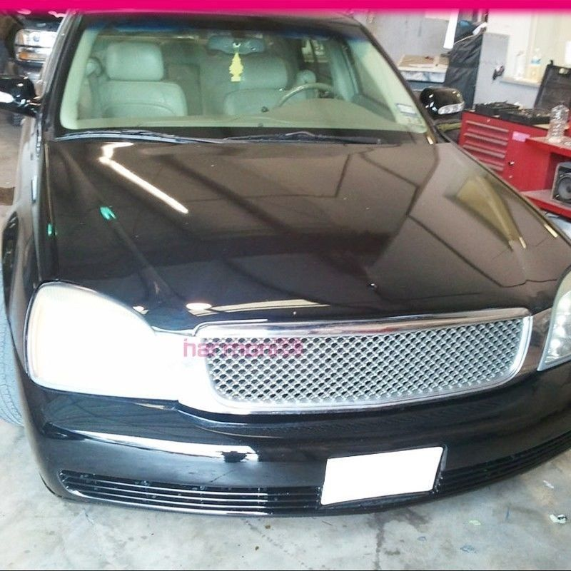 New For 2000-2005 CADILLAC DEVILLE ABS Chrome Front Hood