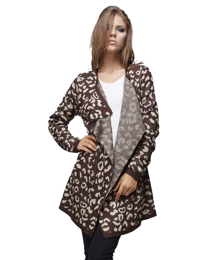 Zoozie LA Women Cardigan Boyfriend Sweater | eBay