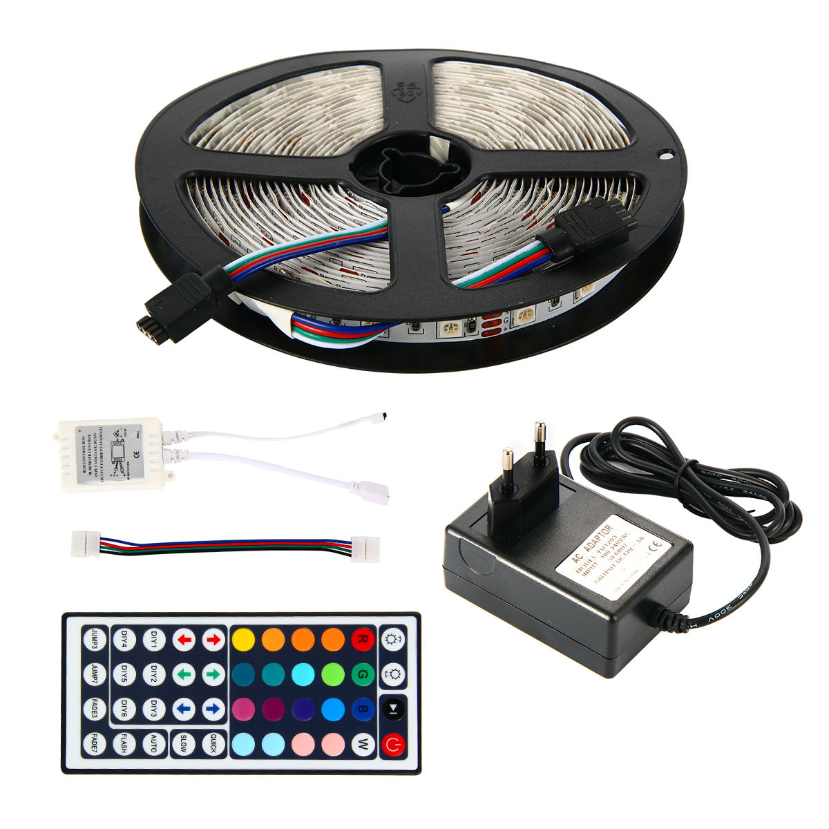 5m 10m 5050 3528 smd led rgb streifen leiste strip ir. Black Bedroom Furniture Sets. Home Design Ideas
