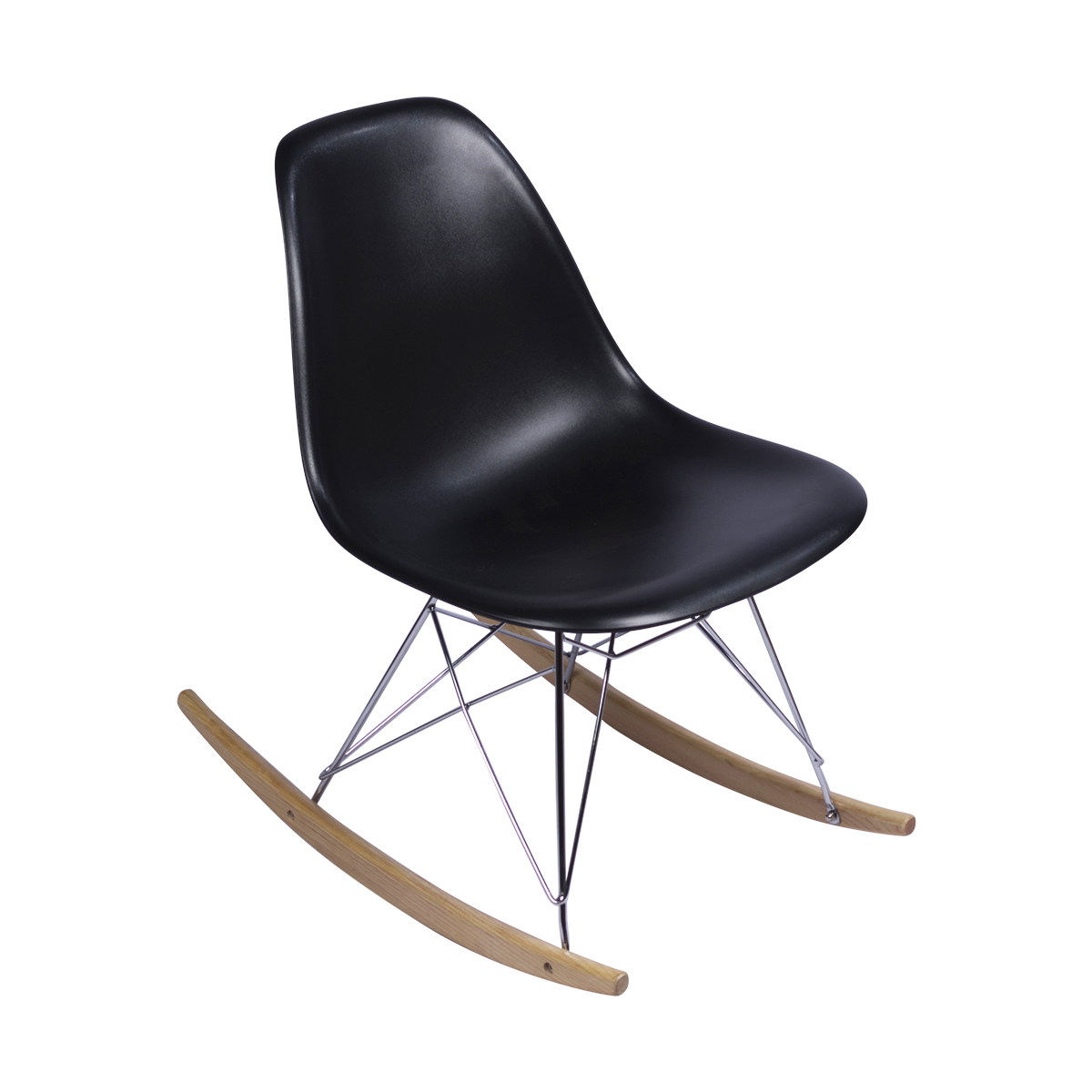 eames rocking chair black replica martlocal. Black Bedroom Furniture Sets. Home Design Ideas