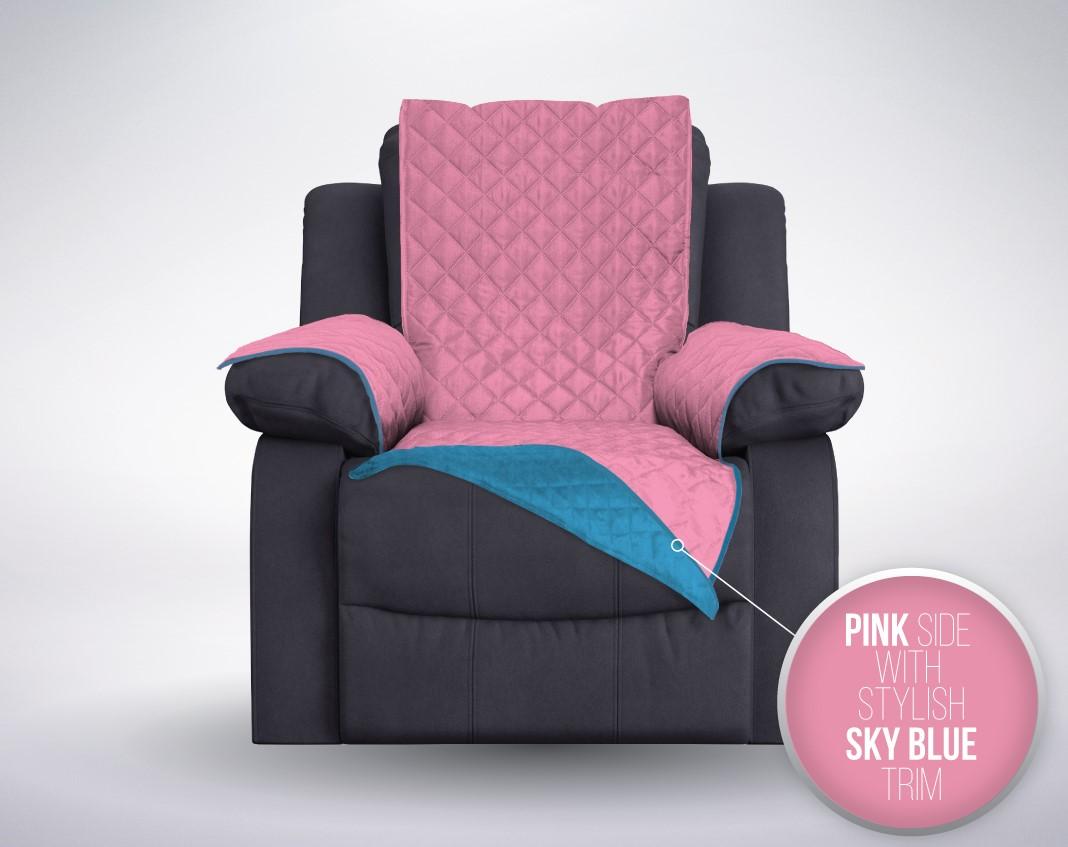 The Original SOFA SHIELD Reversible Furniture Protector  : 2assreclinerbluepinkreverse from www.ebay.com size 1068 x 847 jpeg 124kB