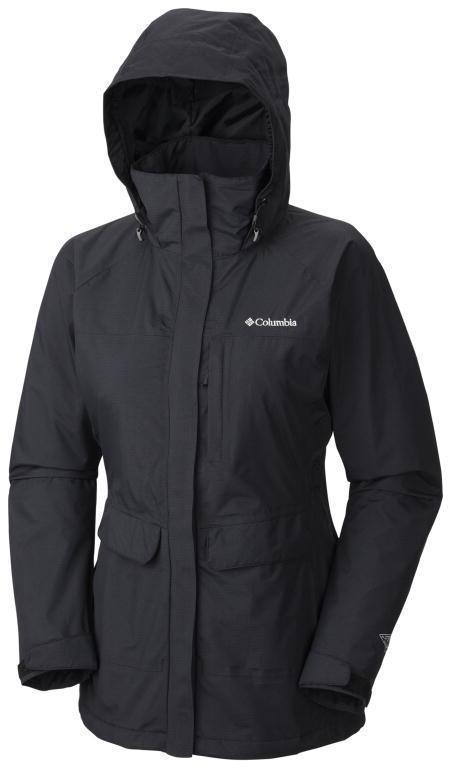 Columbia Women's Longer Miles Jacket - Waterproof Breathable Rain ...