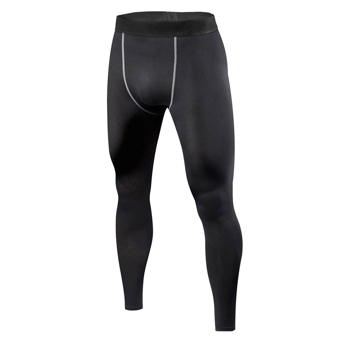 Mens Compression Shorts 3/4 Leggings Long Pants Trousers ...