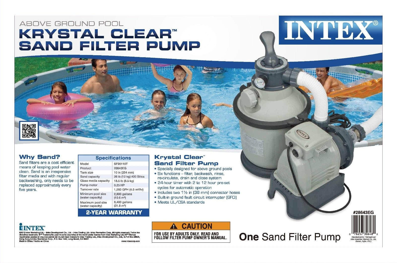 Best Sand Filter For Intex Pool Contemporary