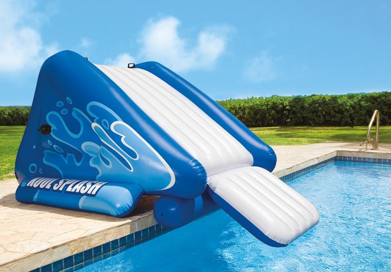 Intex Kool Splash Kids Inflatable Swimming Pool Water Slide Accessory 58851ep Ebay