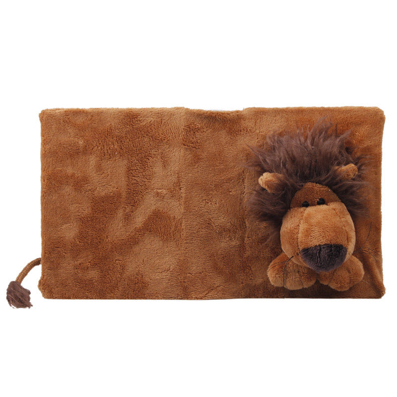Soft Plush Animal Toys For Baby Family Photo Album Book Covers Holder 17x13x5cm