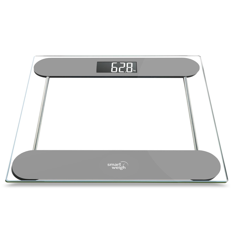 Smart weigh 330lbs precision digital bathroom scale w for Big w bathroom scales