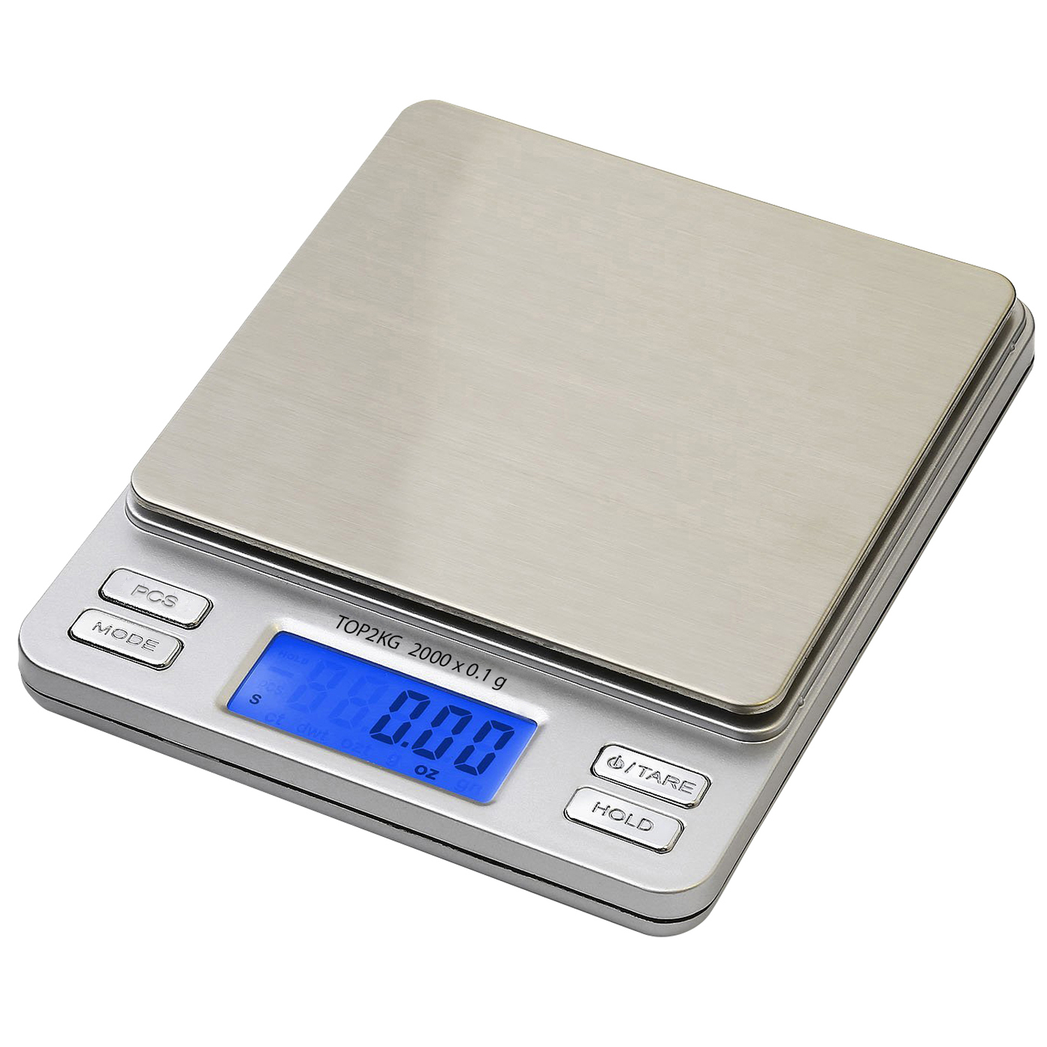 Smart weigh pro top2kg 2kg x pocket digital jewelry for Perfect kitchen pro smart scale