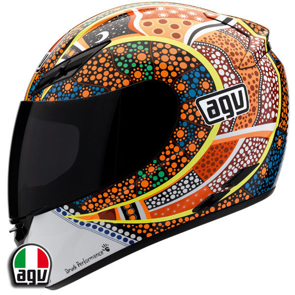 AGV K3 Rossi Dreamtime Motorcycle Helmet M Medium