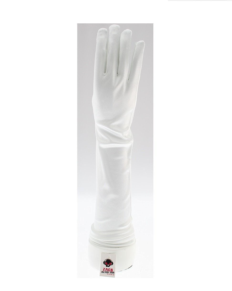 Zac/'s Alter Ego® Long Satin Gloves Fancy Dress Formal