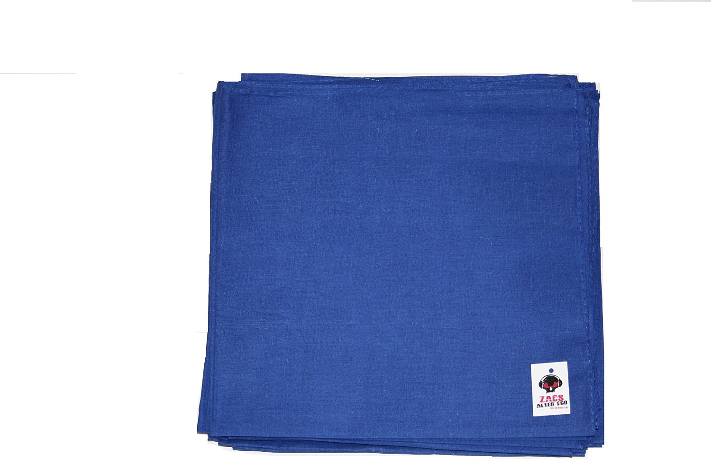 Neckerchief 100/% Cotton Zac/'s Alter Ego® Plain Bandana