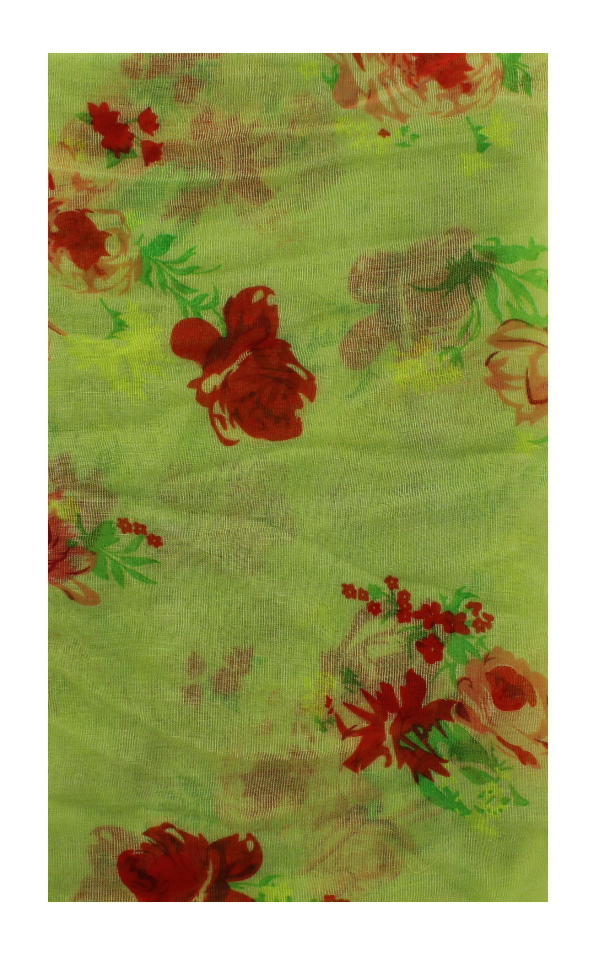 Zac/'s Alter Ego Long Lightweight Springtime Floral Print Scarf