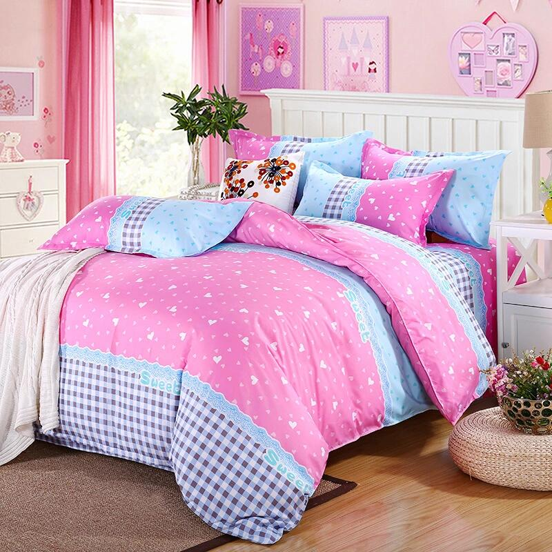 duvet quilt cover w pillow case cotton bedding set twin queen king super king ebay. Black Bedroom Furniture Sets. Home Design Ideas