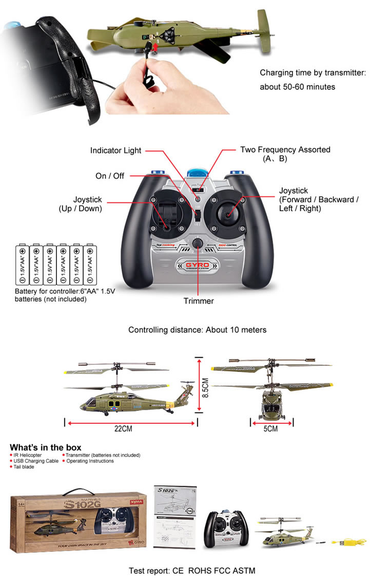 23163 3 syma s102g 3ch remote control mini military rc helicopter with S107 Helicopter Problems at gsmx.co