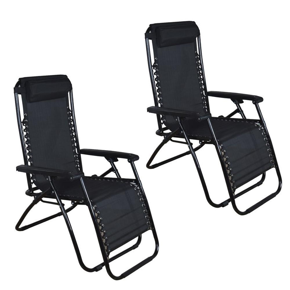 zero folding patio outdoor lounge gravity chair recliner