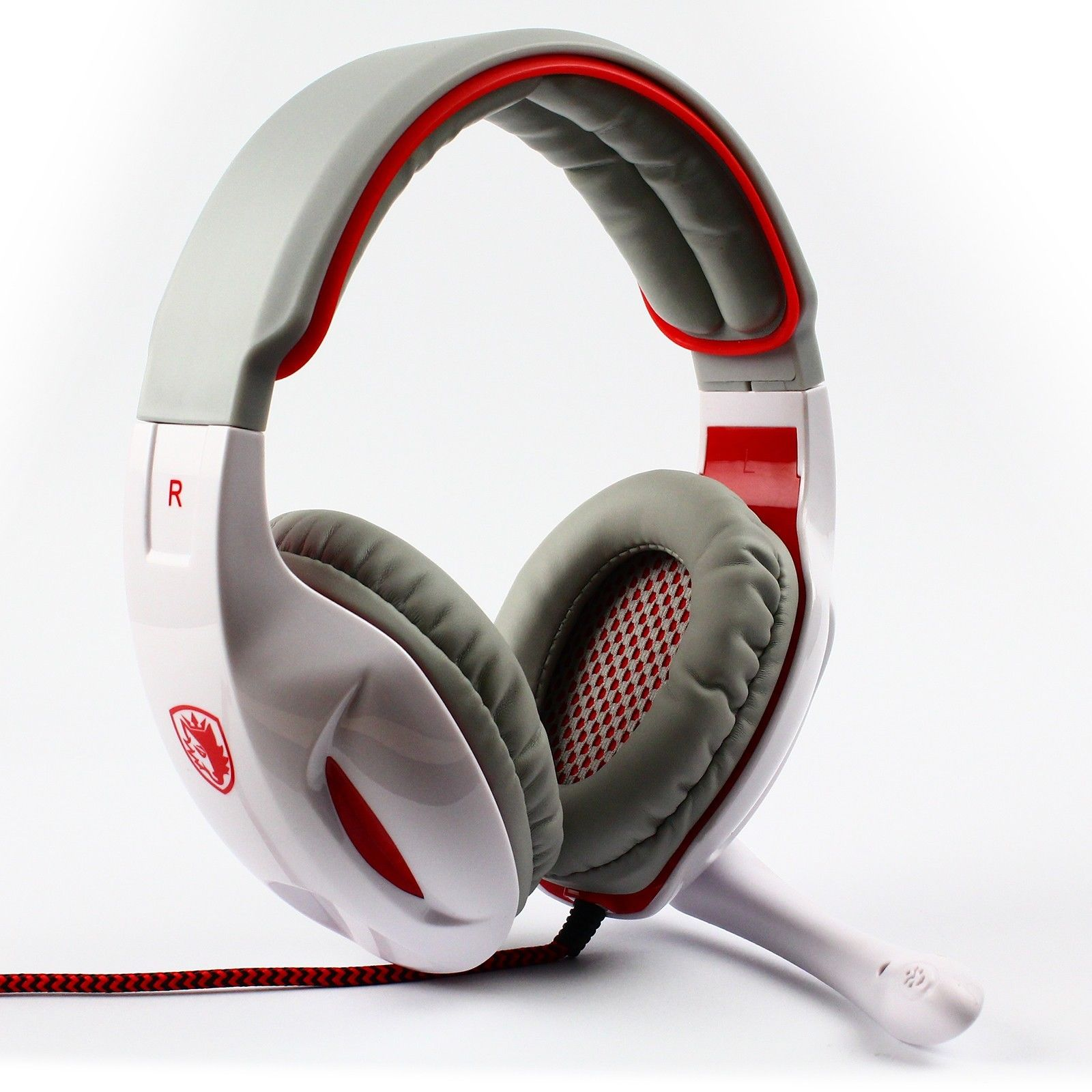 Stereo SA-902 HiFi 7.1 Surround Sound USB Headband Gaming  Headset Cobra Sades