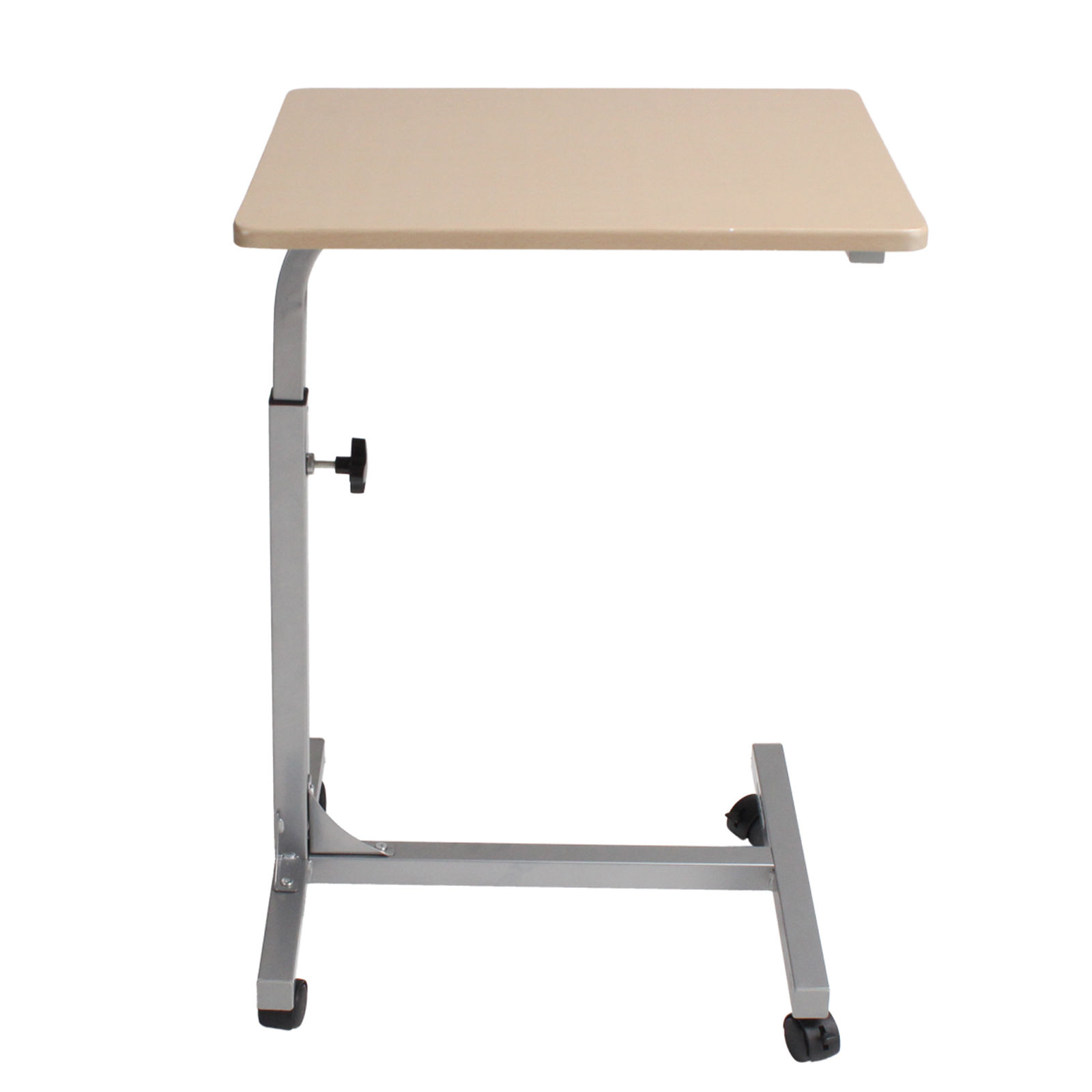 Height Adjustable Rolling Laptop Notebook Desk Bed
