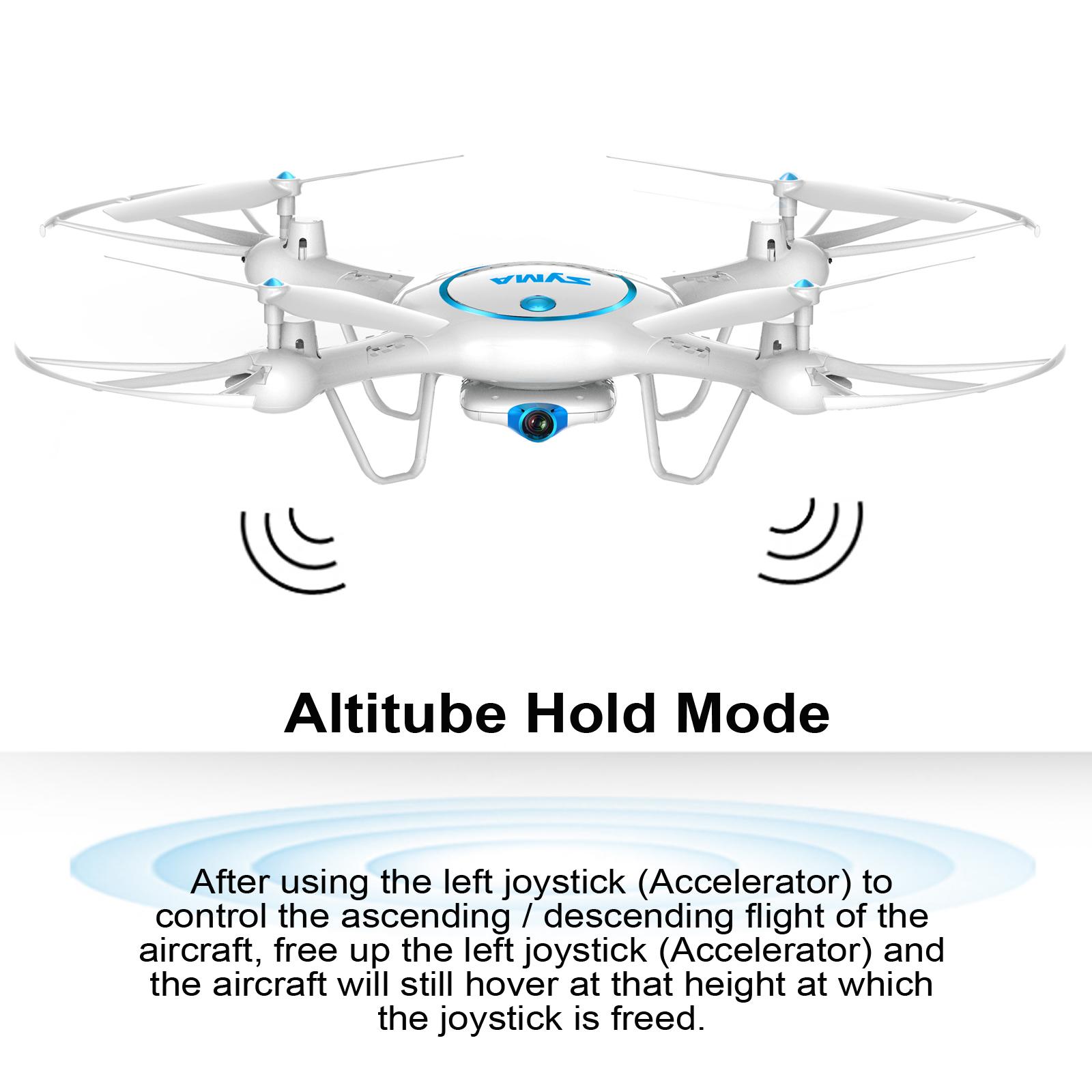 Syma X5UW Wifi FPV Drone With 720P HD Camera 24Ghz RC