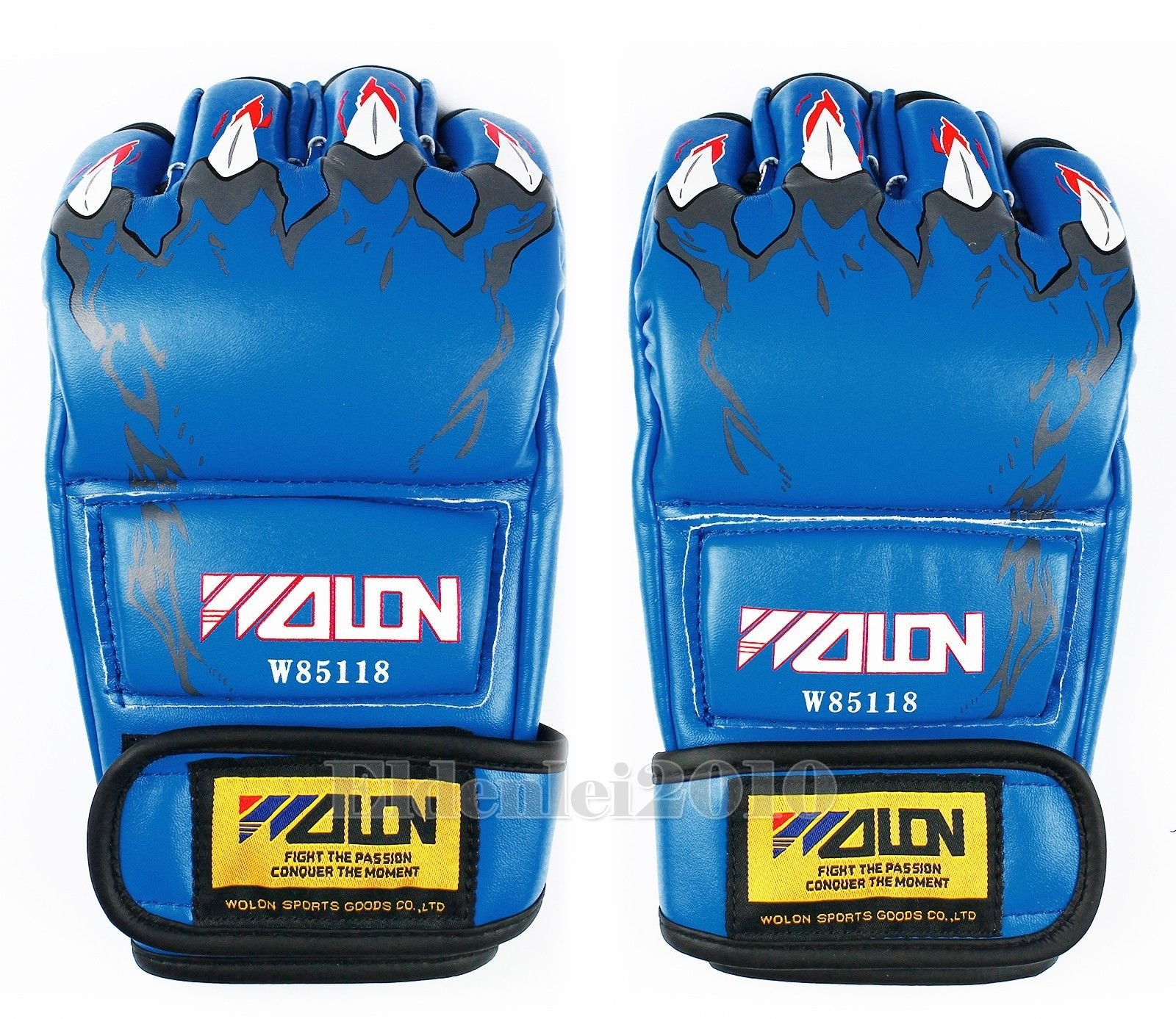 Grappling MMA UFC Sparring Boxing Fight Punch Ultimate Mitts Sanda Half Gloves
