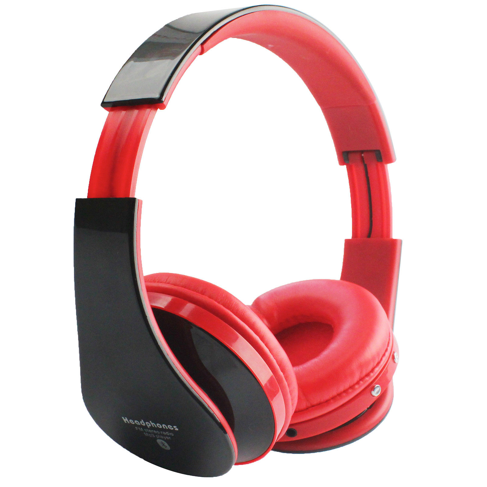 foldable wireless bluetooth 2 ch stereo headset headphone for pc iphone laptop ebay. Black Bedroom Furniture Sets. Home Design Ideas