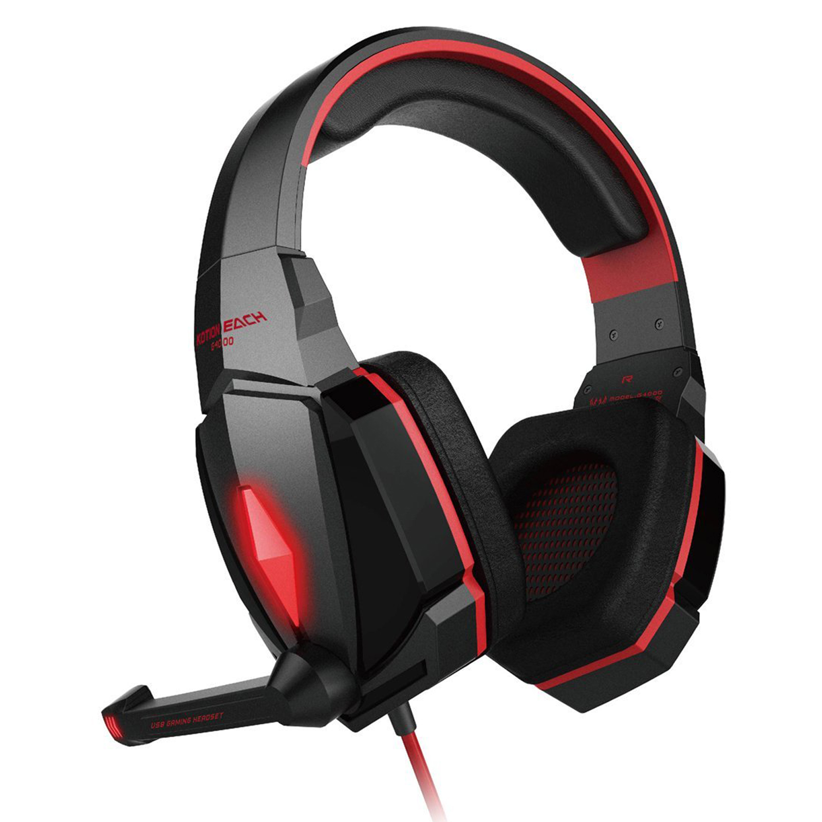 Harga Jual Headset Plus Microphone Best Quality 35mm Advance Mu8 Mic Each G4000 Gaming Stereo Headphones Headband