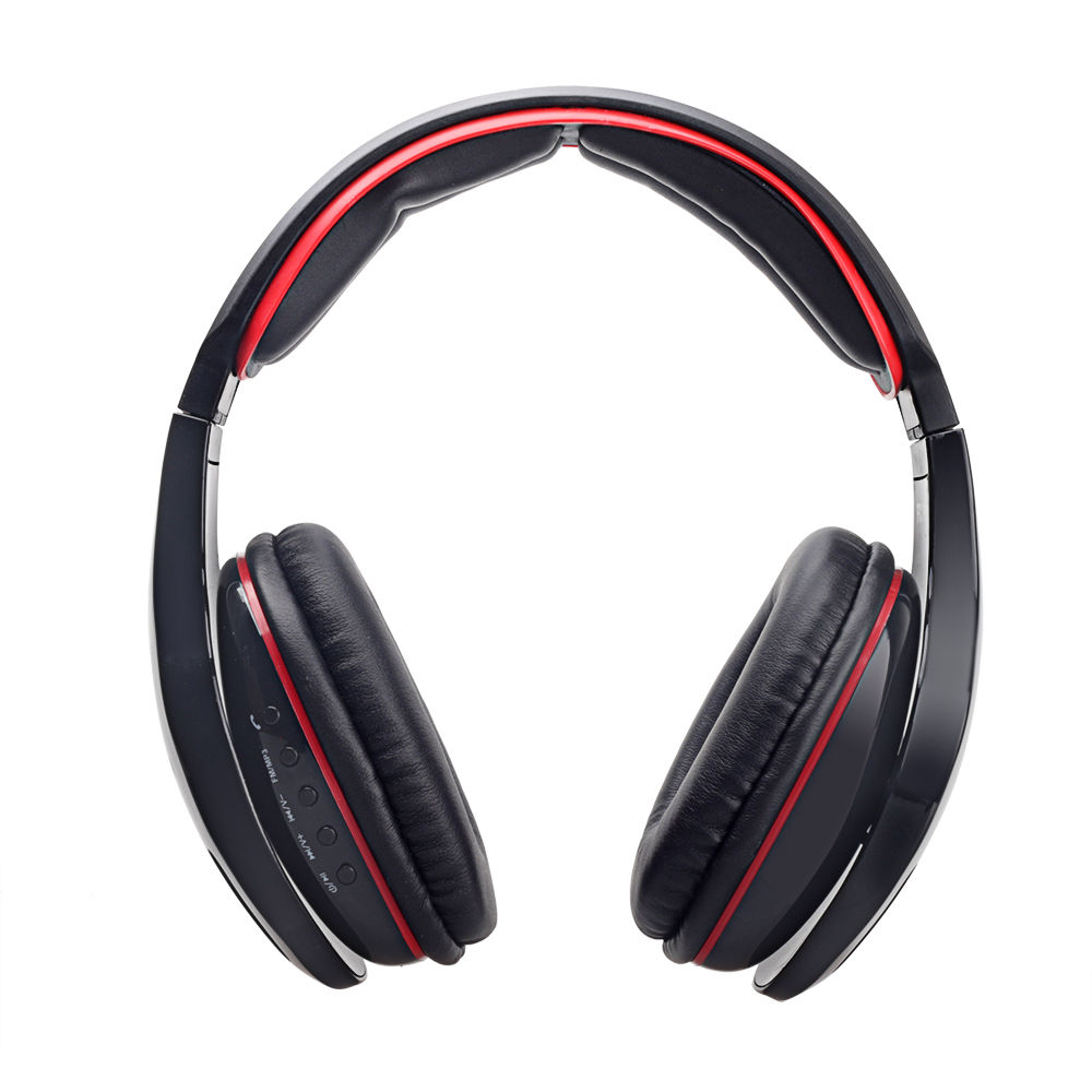 Wireless Bluetooth Stereo Headphone Headset Bass With Mic For IPhone Samsung PC