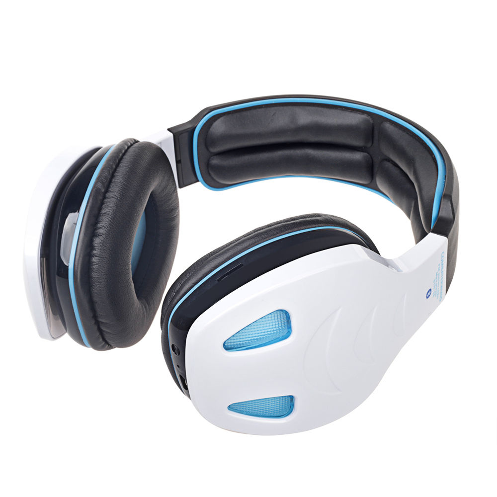 wireless bluetooth stereo headphone headset bass with mic. Black Bedroom Furniture Sets. Home Design Ideas