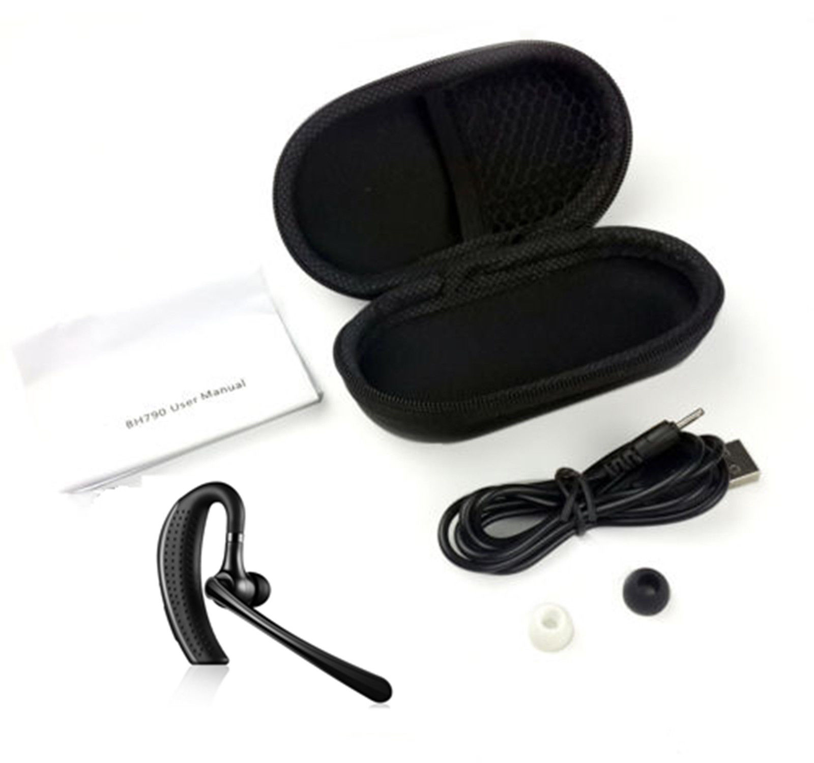 stereo wireless bluetooth 4 1 hands free headset earphone. Black Bedroom Furniture Sets. Home Design Ideas